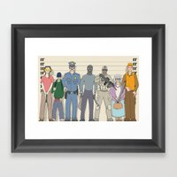 Innocent Until Proven Gu… Framed Art Print