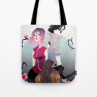 Glory And Gore Go Hand A… Tote Bag