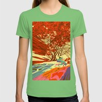 A bird never seen before - Fortuna series Womens Fitted Tee Grass SMALL