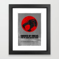 Thundercats (Super Minim… Framed Art Print