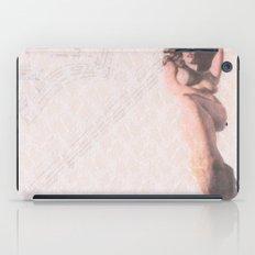 Reclining Lace Nude iPad Case