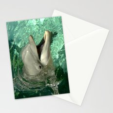 Smiling Dolphin Stationery Cards