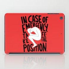 In Case Of Emergency iPad Case