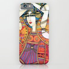DANCER WITH DOVES iPhone 6 Slim Case