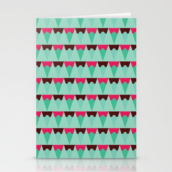 Chocolate Trees Stationery Card