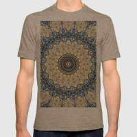 Ascending Soul Mens Fitted Tee Tri-Coffee SMALL