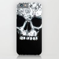 iPhone & iPod Case featuring Skull by czavelle