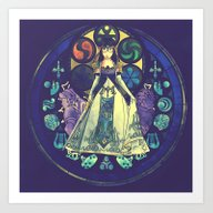 Zelda: Princess Of Desti… Art Print