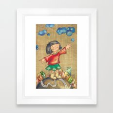I will be a plane Framed Art Print