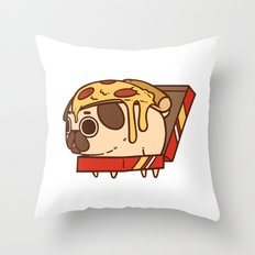 Puglie Pizza Throw Pillow