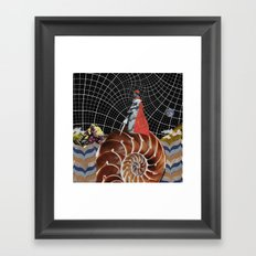 A Wrinkle in Space Framed Art Print