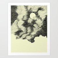 Contour 01 Art Print