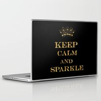 keep calm Laptop & iPad Skins featuring Keep calm by UtArt