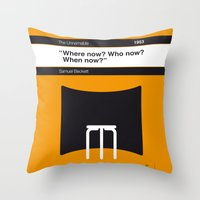 No032 MY The Unnamable Book Icon poster Throw Pillow