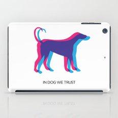 In Dog We Trust iPad Case