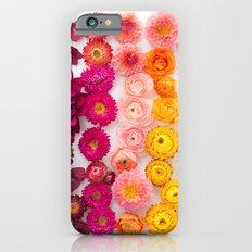 Rainbow flower pattern 4 iPhone 6 Slim Case