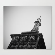 Eiffel Tower at Americana Canvas Print