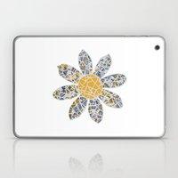 Mosaic Flower 002 Laptop & iPad Skin