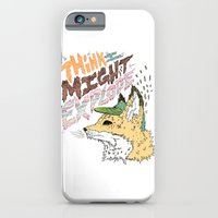 iPhone & iPod Case featuring Foxplosion by Michael Todd Berland