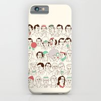 iPhone & iPod Case featuring Many Murrays by Derek Eads