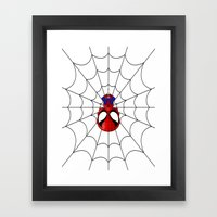 Web Slinger Framed Art Print