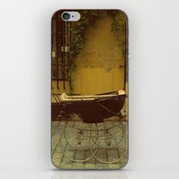 Vintage Baby Carriage in Aix in Provence, France iPhone & iPod Skin