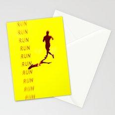 Run Run Run Stationery Cards