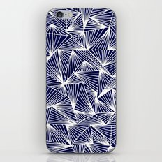 TriangleAngle (Navy) iPhone & iPod Skin