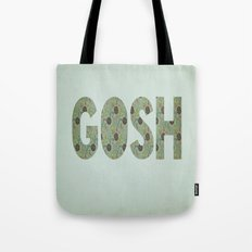 COLLAGE LOVE: GOSH  Tote Bag