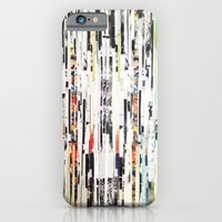 iPhone Cases featuring Black and White Stripes by Brandon Neher