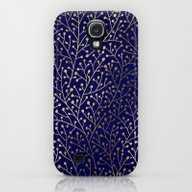 Gold Berry Branches On N… Galaxy S4 Slim Case