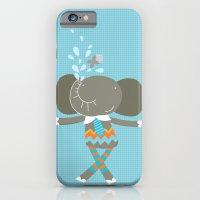 happy elephant iPhone 6 Slim Case