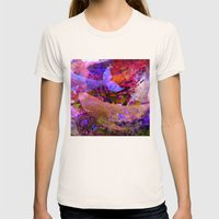 Whales! Womens Fitted Tee Natural SMALL