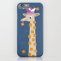 iPhone & iPod Case featuring Note Giraffe by ellis