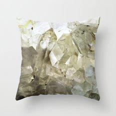 Crystalline Throw Pillow