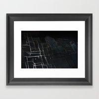 magnetic skins solar parabolic Framed Art Print