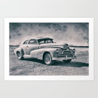 Pontiac At Sonoita Art Print