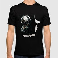Venom  Mens Fitted Tee Black SMALL