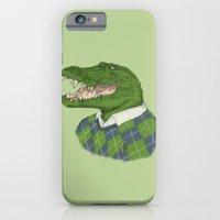 Argyle Crocodile iPhone 6 Slim Case