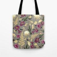 Flowers & Sea Shells Tote Bag