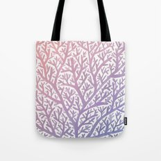 Fan Coral – Rose Quartz & Serenity Tote Bag