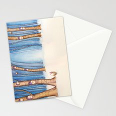 Snow Birds Stationery Cards