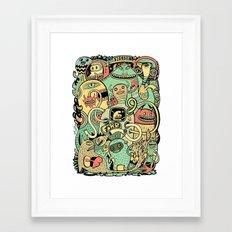 Grand Ménage Framed Art Print