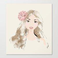 girlie Canvas Print