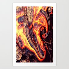 Lava I - for iphone Art Print