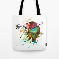 Freedom of colors Tote Bag