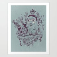 Inner Beast Art Print