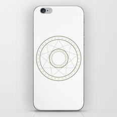 Anime Magic Circle 14 iPhone & iPod Skin