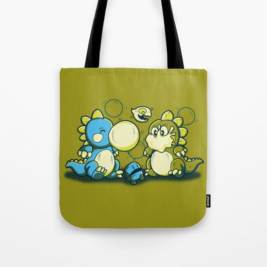 BUBBLE JOKE Tote Bag