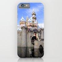 Sleeping Beauty's Holiday Castle iPhone 6 Slim Case